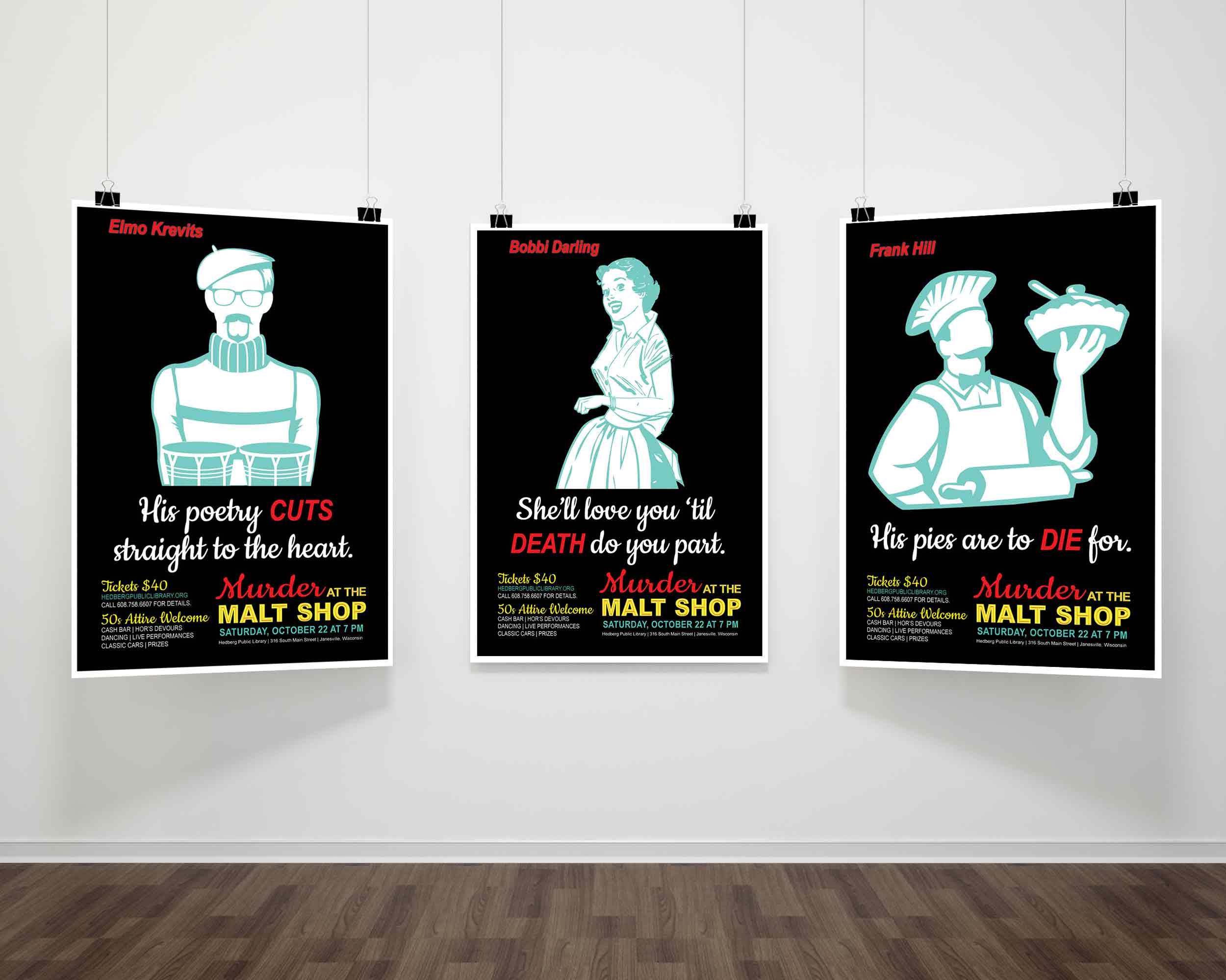 Murder at The Malt Shop Teaser Poster #1