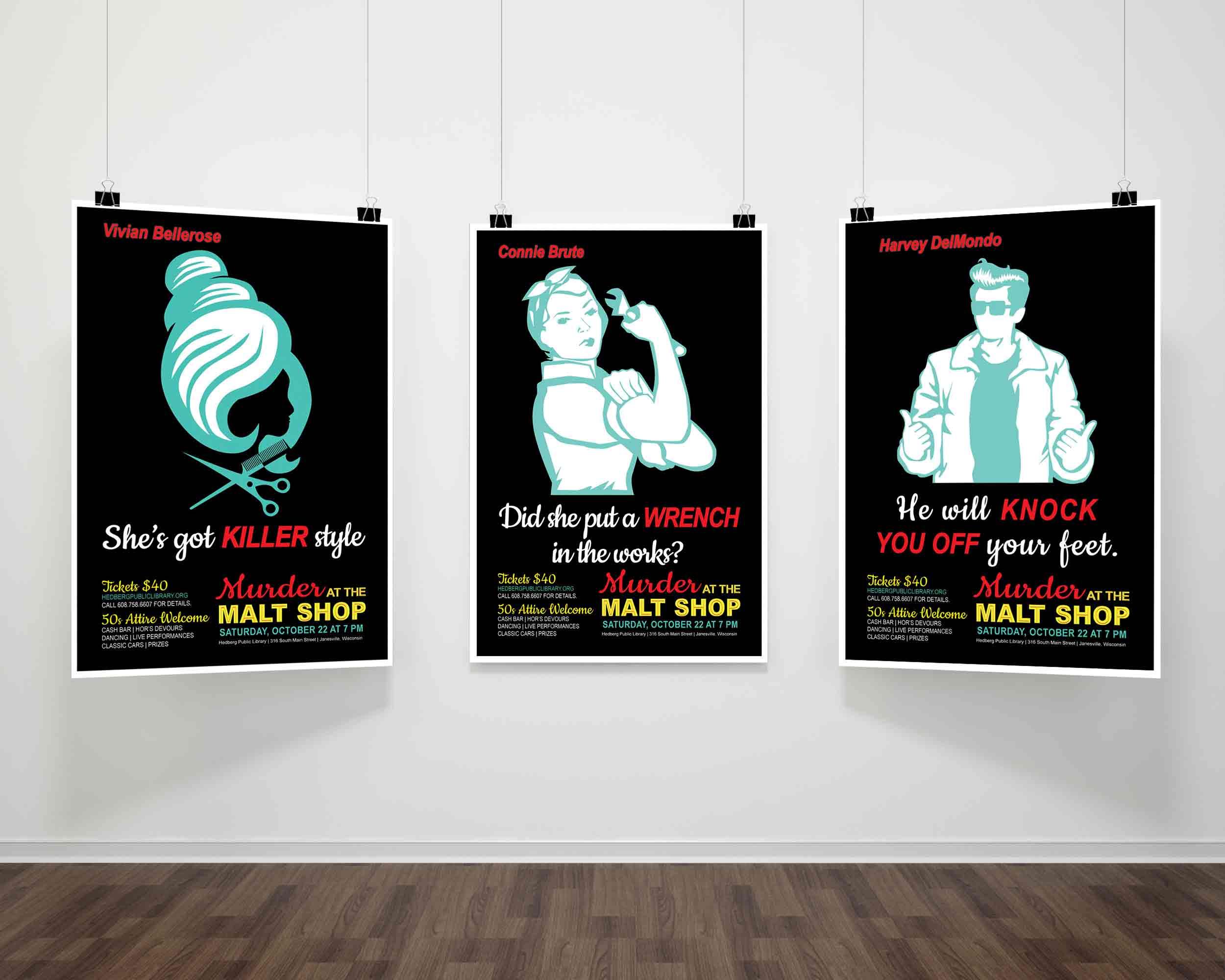 Murder at The Malt Shop Teaser Poster #2