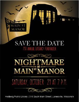 Nightmare at Main Street Promotional Material